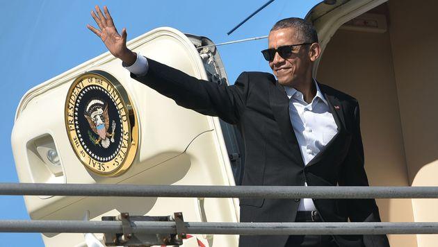 US-Pr�sident Obama reist nach Kuba (Bild: APA/AFP/MANDEL NGAN)