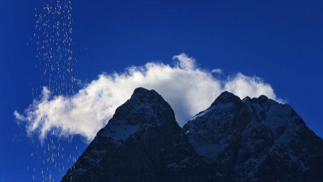 Wechselhaftes Wetter und bis zu 16 Grad (Bild: APA/dpa/Karl-Josef Hildenbrand)