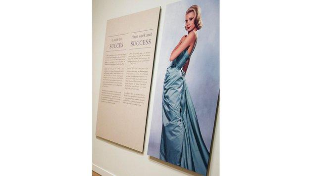 Sie trug ein einer Prinzessin würdiges eisblaues Kleid aus französischer Seide. (Bild: Viennareport)
