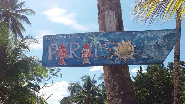 Paradiesisch ist nicht nur dieses Restaurant. (Bild: Max Rogers)