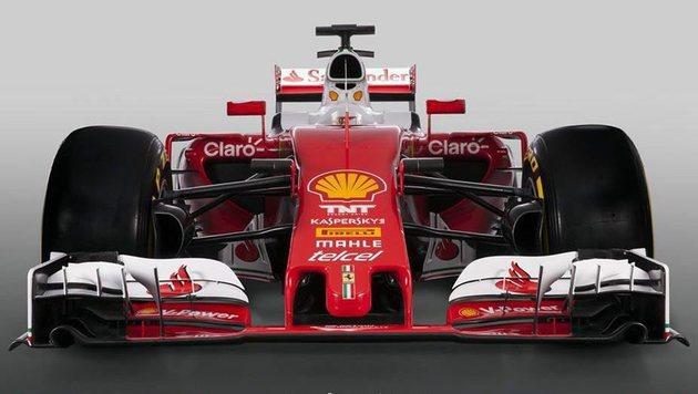 Ferrari greift mit Boliden im Retro-Design an (Bild: EPA)