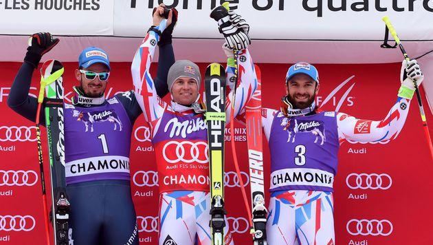 Alexis Pinturault gewinnt Kombi in Chamonix (Bild: AFP or licensors)
