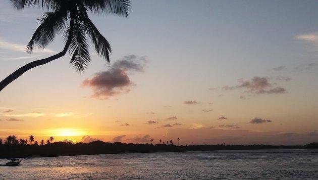 Ruhe am Strand der Isla Boipeba (Bild: Max Rogers)