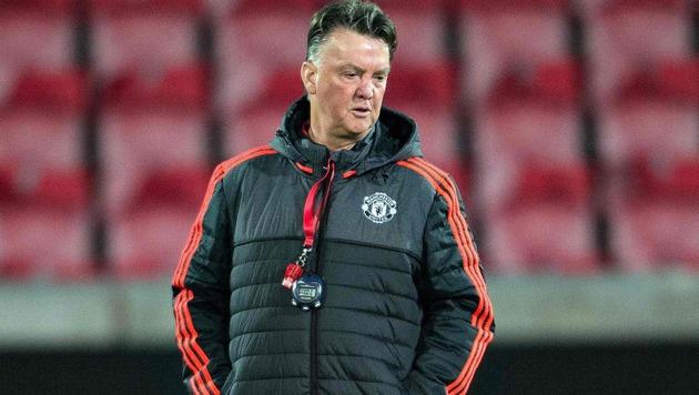 Familiäre Grunde: Van Gaal hört als Trainer auf (Bild: APA/AFP/Scanpix Denmark/HENNING BAGGER)