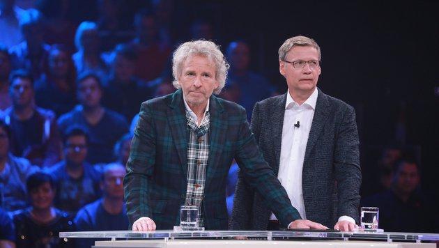 """""""Die 2 - Gottschalk & Jauch gegen ALLE"""" (Bild: RTL / Stefan Gregorowius)"""