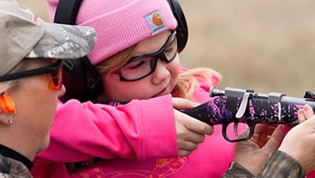 US-Waffenlobby setzt auf Kinder als Zielgruppe (Bild: Violence Policy Centre)
