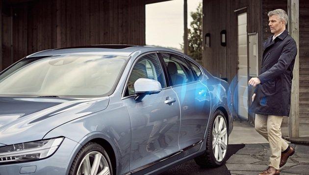 Volvo ersetzt Autoschlüssel durchs Smartphone (Bild: Volvo)