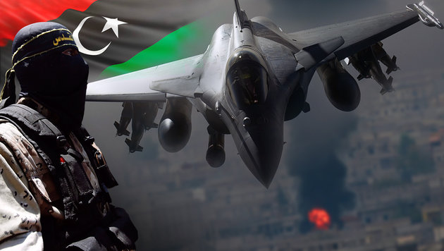 Westen bereitet Kampfeinsatz in Libyen vor (Bild: EPA/MOHAMMED SABER, thinkstockphotos.de, AP, AFP/ECPAD)