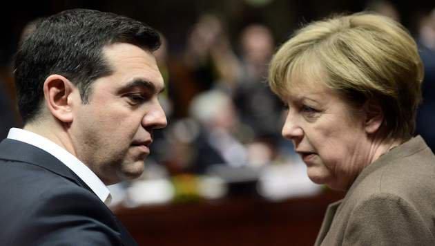 Wie Griechenland jetzt EU und Österreich erpresst (Bild: AFP)