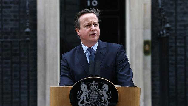 David Cameron (Bild: APA/AFP/Justin Tallis)