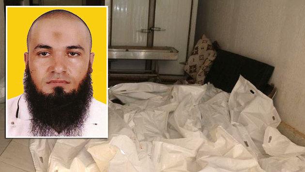 Nourreddine Chouchane soll ebenfalls unter den Toten sein. (Bild: APA/AFP/HANDOUT, ASSOCIATED PRESS)