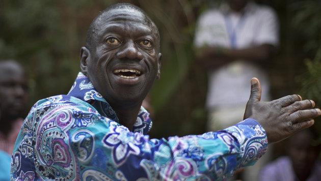 Oppositionsführer Kizza Besigye stand in letzter Zeit mehrfach unter Hausarrest. (Bild: ASSOCIATED PRESS)