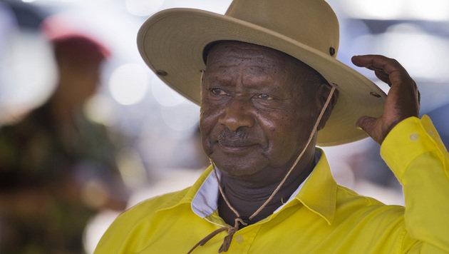 Präsident Yoweri Museveni (Bild: ASSOCIATED PRESS)