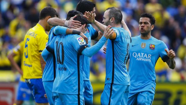Video: Barca siegt und siegt und siegt und ... (Bild: AP)