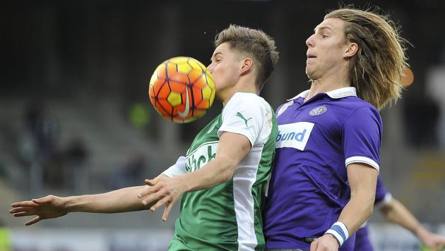 Last-Minute-Tor schockt Austria! 2:2 gegen SVM (Bild: GEPA)