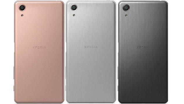 Wer sich mit Gold nicht anfreunden kann, bekommt das Xperia X Premium auch in diesen Farben. (Bild: Sony)
