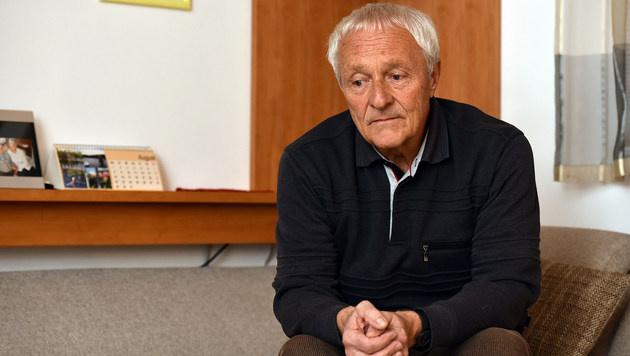 Rudolf H., der Vater des Täters (Bild: Markus Wenzel)