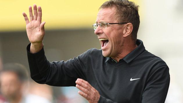 Leipzigs Rangnick: Fans können nicht mitbestimmen (Bild: APA/dpa/Arne Dedert)