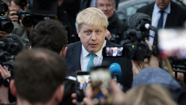 Londons Bürgermeister Boris Johnson (Bild: AP)