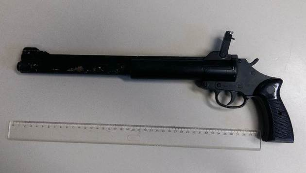 Schuss aus Waffe gelöst: Bursch (16) verletzt (Bild: APA/LPD WIEN)