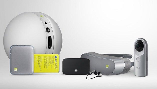 LG G5: Modulares Transformer-Handy angekündigt (Bild: LG)