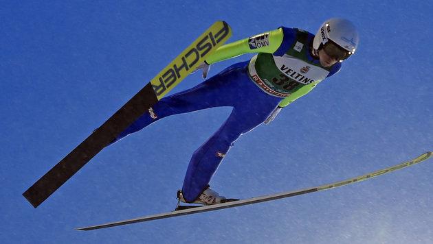 """Ski-""""Adler""""-Schock: Poppinger erlitt Kreuzbandriss (Bild: GEPA)"""
