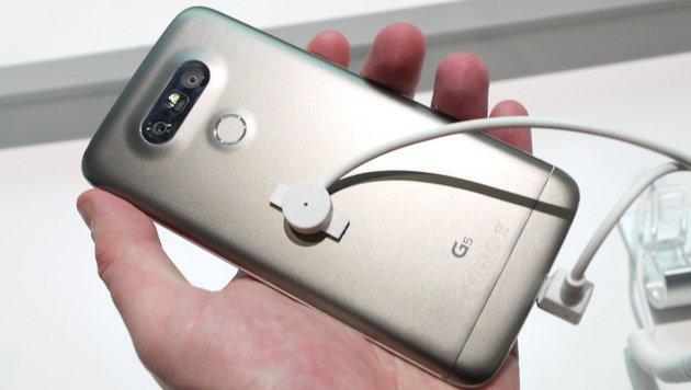 LG G5: Modul-Smartphone aus Korea ausprobiert (Bild: Dominik Erlinger)