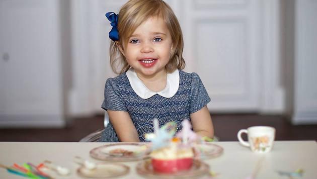 Prinzessin Leonore feiert ihren zweiten Geburtstag. (Bild: facebook.com/PrincessMadeleineOfSweden/Brigitte Grenfeldt)