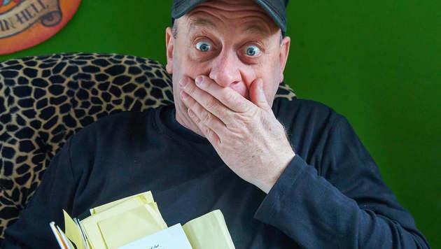 "Komplett ""DADA""?: Alf Poier kehrt mit Programm zurück. (Bild: Starpix/Alexander Tuma)"
