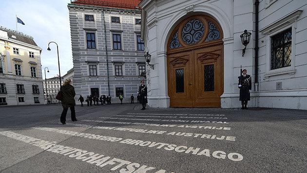 Ausgang des Rennens um die Hofburg völlig offen (Bild: APA/Helmut Fohringer)