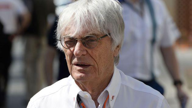 """Ecclestone: """"Formel 1 so schlecht wie nie zuvor"""" (Bild: APA/AFP/Tom Gandolfini)"""