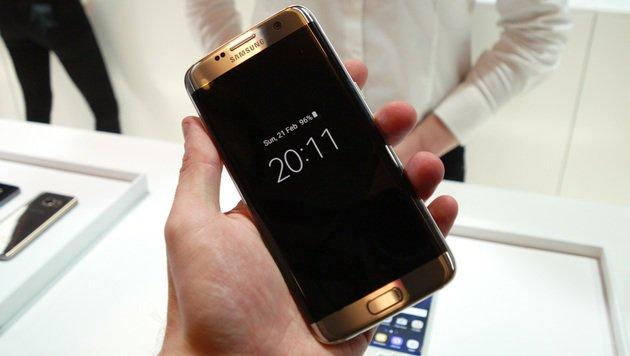 Das Always-On-Display des Galaxy S7 ist eine sehr praktische Sache. (Bild: Dominik Erlinger)