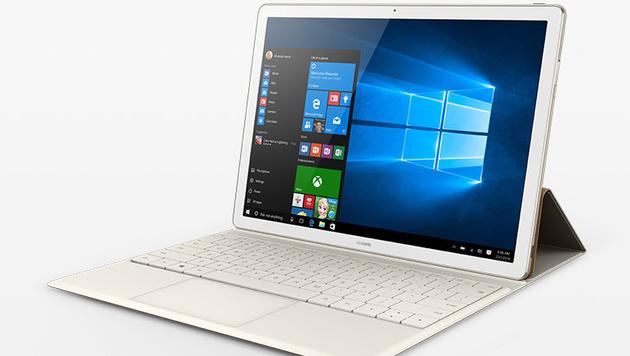 MateBook: Konkurrenz für iPad Pro und Surface (Bild: Huawei)