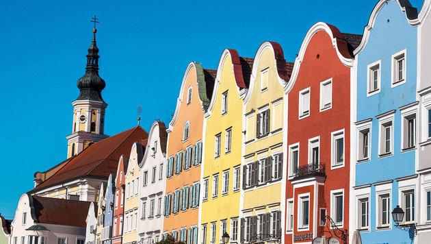Malerische Barockstadt Schärding an der bayrischen Grenze (Bild: Kurhaus Schärding)