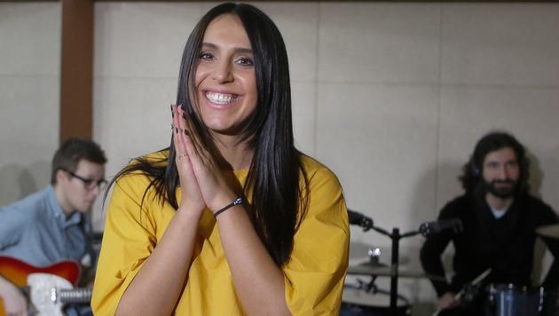 Ukraine schickt Krimtatarin zum Song Contest (Bild: AP)