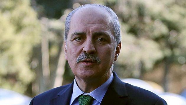 Der türkische Vizepremier Numan Kurtulmus (Bild: APA/AFP/ADEM ALTAN)
