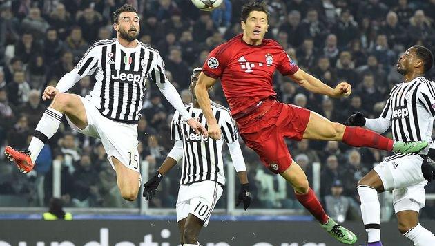 2:2! Bayern verspielt 2:0-Führung bei Juventus (Bild: AFP or licensors)