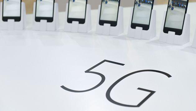 Mobilfunkturbo 5G lässt noch auf sich warten (Bild: AFP)