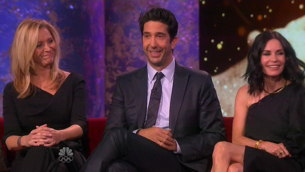 Lisa Kudrow, David Schwimmer, Courteney Cox (Bild: Viennareport)
