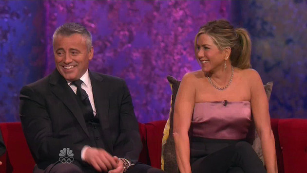 Matt LeBlanc und Jennifer Aniston (Bild: Viennareport)