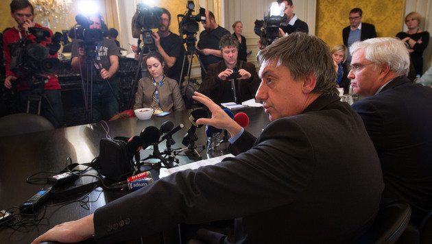 Belgiens Innenminister Jan Jambon (Bild: APA/AFP/Belga/Benoit Doppagne)