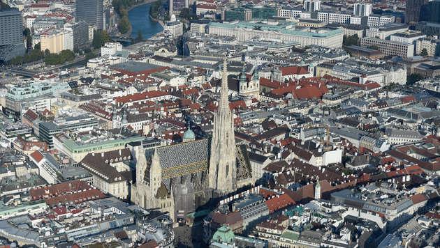 Immer mehr teure Luxuswohnungen in Wien (Bild: APA/HELMUT FOHRINGER)