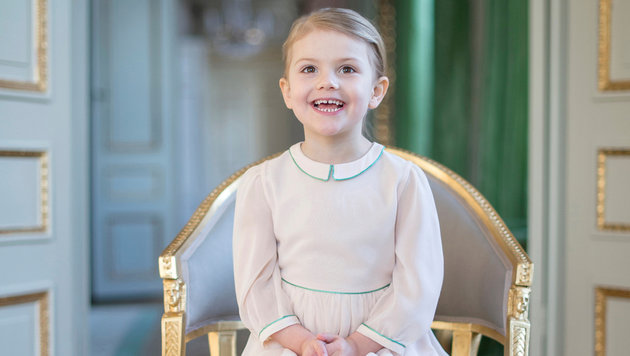 Prinzessin Estelle von Schweden (Bild: Kate Gabor/Kungahuset.se)