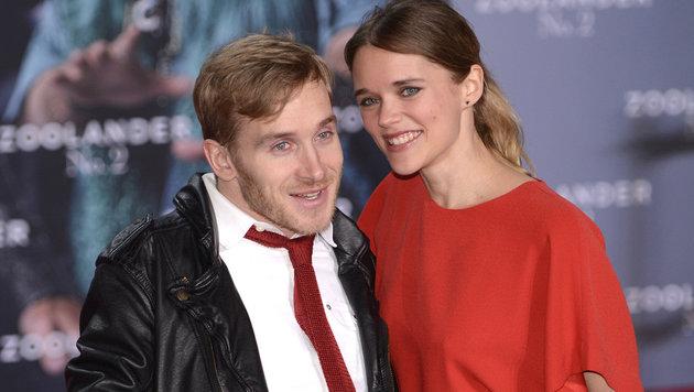 Samuel Koch und seine Freundin Sarah Elena Timpe (Bild: Viennareport)