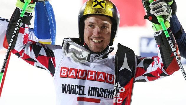 Super-Marcel Hirscher in Stockholm unschlagbar! (Bild: GEPA)