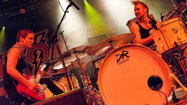 Eagles of Death Metal rocken Wiener Gasometer (Bild: Andreas Graf)