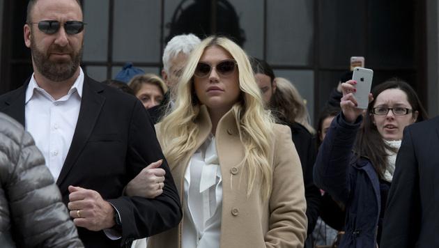 Kesha soll im Gerichtssaal in Tränen ausgebrochen sein. (Bild: AP)