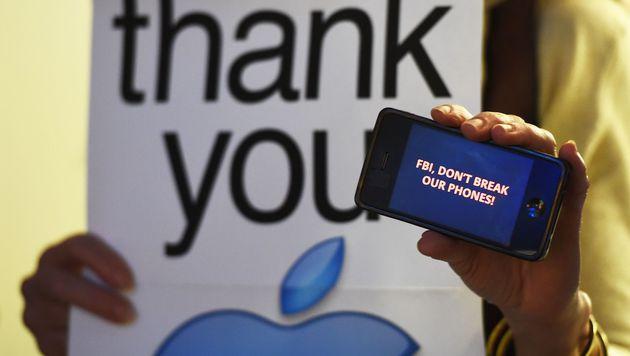 US-Justiz fordert Entsperrung von 15 iPhones (Bild: AFP)
