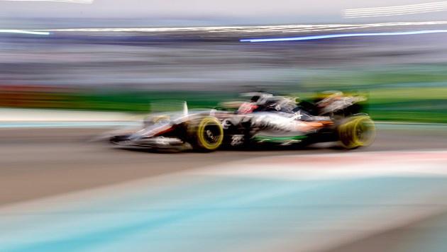Mercedes weiter ohne Bestzeit - Hülkenberg voran (Bild: AFP)
