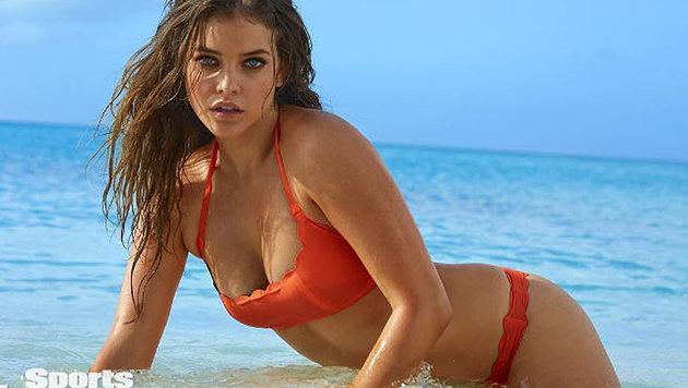 Bikini-Model Barbara Palvin als zu fett beschimpft (Bild: instagram.com/si_swimsuit)